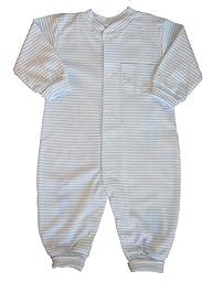Kissy Kissy Playsuit Simple Stripes - Blue -- blue size: 18 months