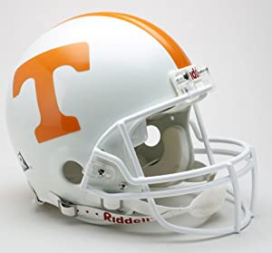 TENNESSEE VOLUNTEERS NCAA Riddell VSR-4 ProLine AUTHENTIC Football Helmet by ON-FIELD