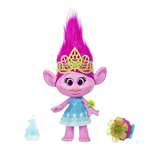 Dreamworks Trolls Hug Time Poppy Interactive Toy Doll Movie Talks Plays Songs Lights Up Hot Toy 2016