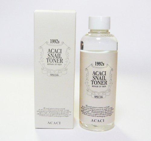 韓国スネイルコスメ Snail Repair Skin Care 皮膚再生化粧品 カタツムリエキス配合 Snail AntiーWrinkle Toner 200ml CHAMOS ACACI