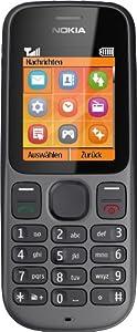 Nokia 100 Handy (4,6 cm (1,8 Zoll) Display, Radio) phantom schwarz