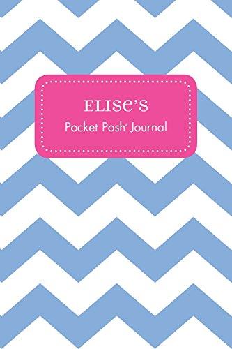 Elise's Pocket Posh Journal, Chevron