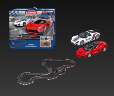 Carrera Digital 132 Hybrid Power Race Playset