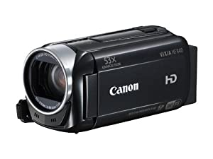 Canon VIXIA HF R40 HD 53x Image Stabilized Optical Zoom Camcorder 8 GB Internal Drive Dual SDXC Card Slots and 3.0 Touch LCD