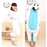 Samgu-Licorne animal Pyjama Cospaly Party Fleece Costume Deguisement Adulte Unisexe