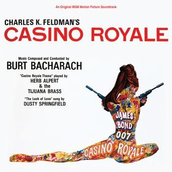 Original album cover of Casino Royale, limited-edition CD by James Bond - OST