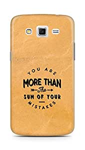 AMEZ you are more than the sum of your mistakes Back Cover For Samsung Galaxy Grand 2 G7102