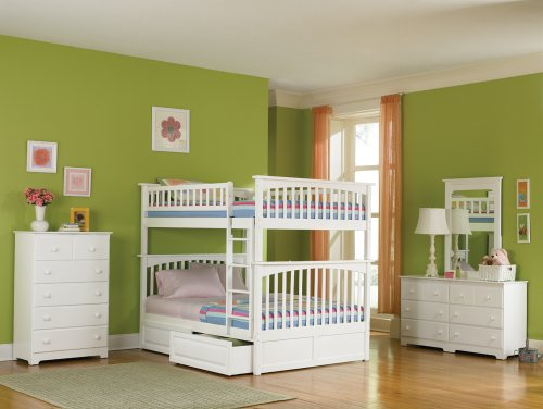 Full Over Futon Bunk Bed 4585 front