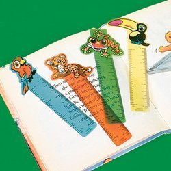 Fun Express Rainforest Friends Ruler Bookmarks (4 Dozen)