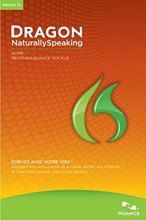 Dragon NaturallySpeaking 12.5 Home [Téléchargement]