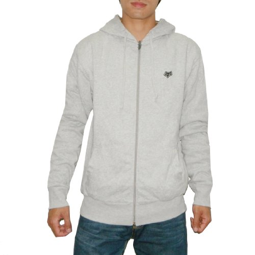 FOX Mens Heavy Weight Warm Fall / Winter Surf & Skate Zip-Up Hoodie Sweatshirt (Size: L)