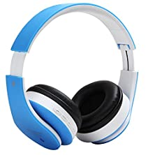 buy Sky300 Hifi Deep Bass Wireless Stereo Bluetooth Headphone Noise Cancelling Headset With Mic, Support Tf Card, Fm Radio