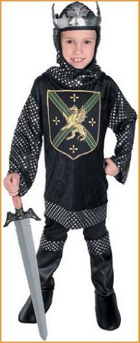 Renaissance Child Warrior King Costume