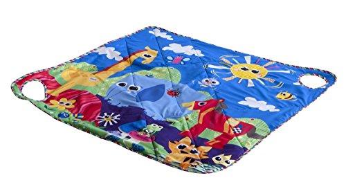 Lamaze - Manta de actividades porta-juguetes (TOMY 30697156)