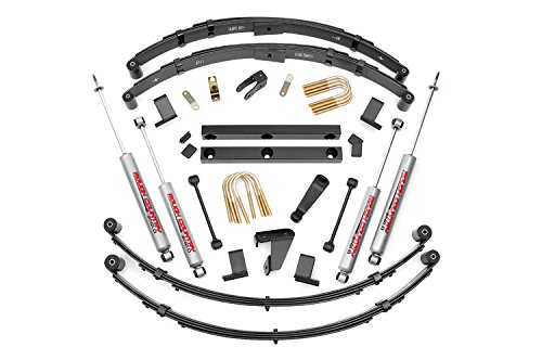 Rough Country - 620N2 - 4-inch Suspension Lift System w/ Premium N2.0 Shocks (91 Jeep Yj Lift Kit compare prices)