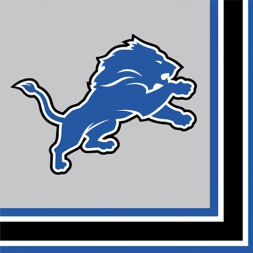 Detroit Lions Luncheon Napkins - 1