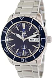 Seiko 5 Series Automatic Blue Dial Diver Watch SNZH53J1