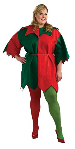 Rubie's Costume Co Women's Plus ELF Tights