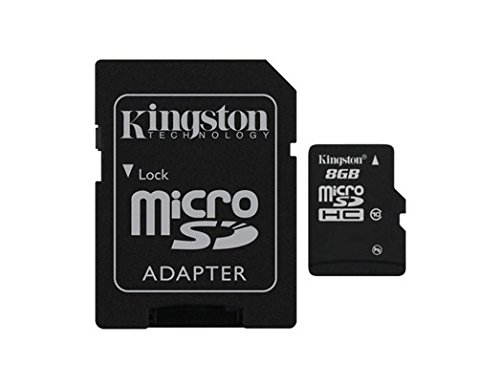 CLASS 4 KINGSTON MICRO SDHC MEMORY CARD WITH SD ADAPTER HC MICROSD (16GB)