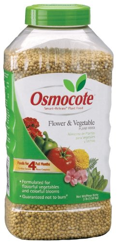 Osmocote 273260 Flower and Vegetable Smart-Release Plant Food Jar, 3-Pound (Discontinued by Manufacturer)