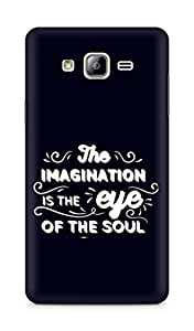 Amez The Imagination is the Eye of the Soul Back Cover For Samsung Galaxy ON7
