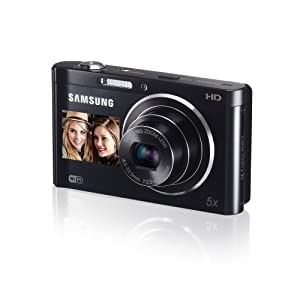 Samsung DV300F 16 MP 5X Wi-Fi Dual View Digital Camera