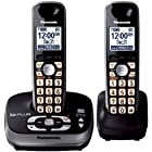 Panasonic KX-TG4032B DECT 6.0 Plus Digital Expandable Cordless Phone with Talking Caller ID and Digital Answering System - 2 Handset Pack