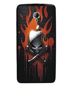 Techno Gadgets Back Cover for Micromax Canvas Fire Q411