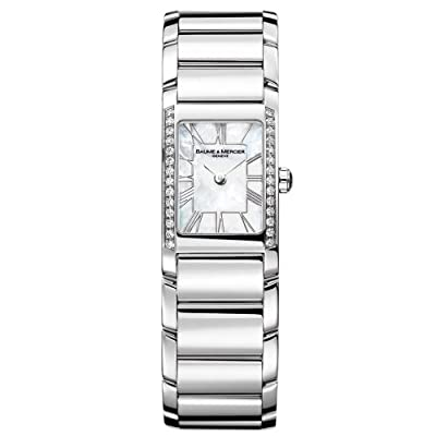 Baume & Mercier Women's 8748 Hampton Cuff Diamond Watch