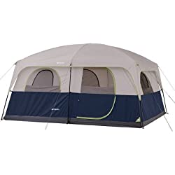 Ozark Trail 10 Person 2 Room Straight Wall Family Cabin Tent