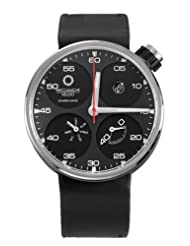 Meccaniche Veloci Men's W122N068373016 Automatic Titanium Black Dial Day-Date Watch