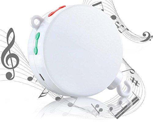 MYTK neue, verbesserte Version der elektrischen, batteriebetriebenen Spieluhr mit Micro-SD-Karten-Slot für Baby-Mobiles inklusive 128 MB Micro-SD-Karte mit 12 Melodien. Erweiterbar bis 64 GB