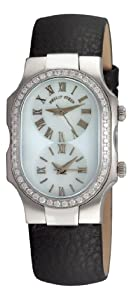 Philip Stein Women's 1DFCMOPCB Diamond Cowhide Strap Watch by Philip Stein
