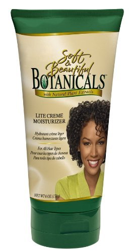 Soft and Beautiful Botanicals Lite Crème Moisturizer, 6 Ounce