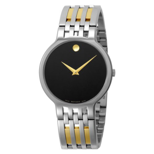 lowest price movado men s 606044 esperanza two tone