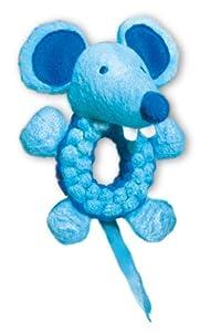 KONG Cat Braidz Round Mouse Catnip Toy (Colors vary)
