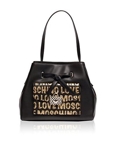 Love Moschino Henkeltasche schwarz