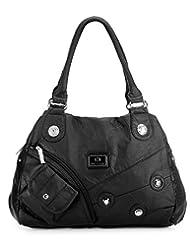 Basta Women's Hand-held Bag (Black)