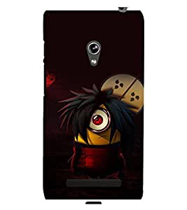 printtech Minions Anime Back Case Cover for Asus Zenfone 5::Asus Zenfone 5 A500CG
