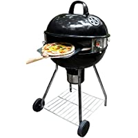 PizzaQue PC7001 Deluxe Kettle Grill Pizza Kit for 18