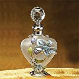 Artico 51625 Floral Crystal Jewel Fragrance Perfume Bottle