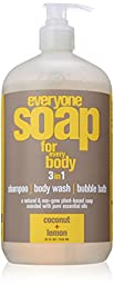 EO Products Coconut and Lemon Everyone Soap, 32 Ounce 3 in 1 -- 1 each.