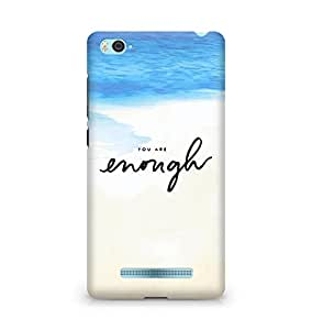 AMEZ you are enough Back Cover For Xiaomi Mi4i