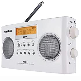 Portable Radio with Digital Tuning and Rds