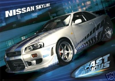 fast-furious-2-2-nissan-maxima-skyline-poster-91-x-61-cm