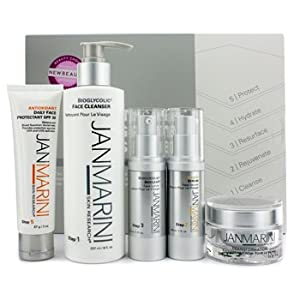 Jan Marini Skin Care Management System: Cleanser + Face Protectant + Face Serum + Face Lotion + Face Cream (Normal/Combination Skin) - 5pcs