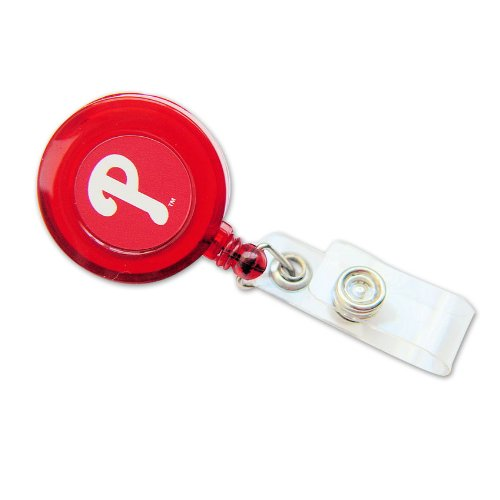 Philadelphia Phillies Retractable Badge Reel Id Ticket Clip Mlb Philadelphia Phillies Retractable B at Amazon.com