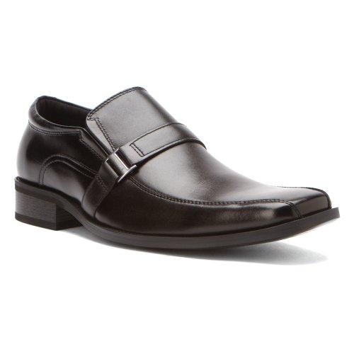 Steve Madden Men'S Kickbak Slip-Onblack Leather8.5 M Us front-901734
