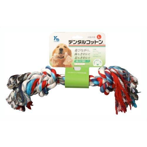 共立商会 犬用 デンタルケア用品 デンタルコットン L レインボー