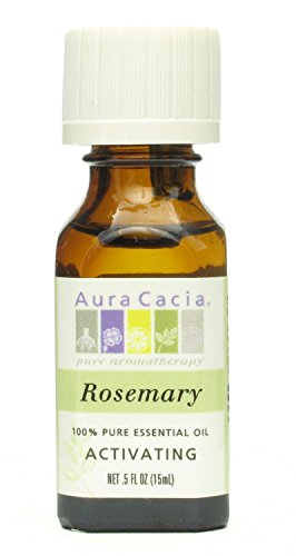 Aura Cacia 100% Pure Essential Oils - Rosemary - 0.5 oz